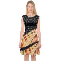 Buy Knit Jersey Fabric Womens Casual Summer Dresses A Line Midi Dress For Holiday at wholesale prices