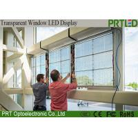 Quality P3.91Indoor LED display for video wall transparent glass led display screen for sale