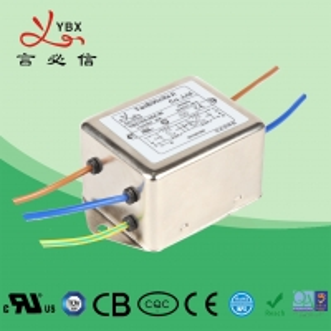 Quality OEM 30 Ampere EMI EMC Filter , Electromagnetic Interference Filter for sale