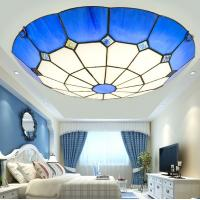 Quality Peacock tiffany ceiling lamp Fixtures For Indoor house Lighting (WH-TA-12) for sale