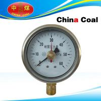Quality Double needle seismic pressure gauge for sale