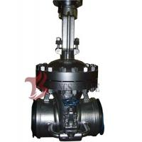 Cast Steel Flex / Solid Wedge Gate Valve With Bypass Valve HF Seal API / DIN Standard