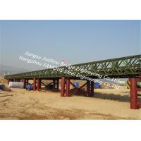 Quality Military Steel Truss Bridge For Emergency Rescue High Performance Steel Structure Bailey Bridge for sale