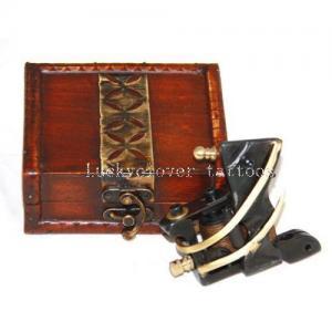 Quality Handmade Iron&Copper Tattoo Machine Gun Shader W/Box for sale