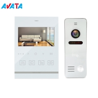 "Quality Video Door Phone 4.3"" Memory Home Security Video Door Bell Intercom for sale"