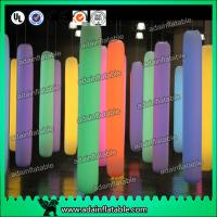 Quality Events Party Hanging Decoration LED lighting Inflatable Pillar for sale