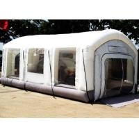 China Automotive Mini Outdoor Mobile Portable Car Inflatable Spray Paint Booth White Color wholesale