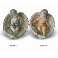 China Polyresin Angel Figurine on sale