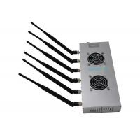 Quality Wifi Bluetooth High Power Cell Phone Jammer 12w 6 Bands For Library for sale