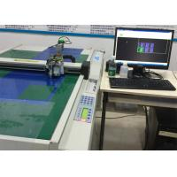 Buy cheap Self Adhesive Vinyls Flatbed Cutter Kiss Cut CNC Plotter Machine from wholesalers
