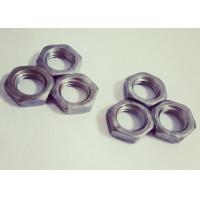 Quality Surface Untreated Fine Thread Hex Nuts M18 Excellent Anti Loosening Effect for sale