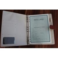 Quality Cow leather hardcover customized notebook manufacturer for sale