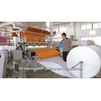 Quality 94 Inch Cam Model Lock Stitch Quilting Machine , 2.4 Meters Industrial Sewing Machine for sale