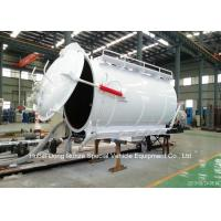Quality Customized Cabon Steel Vaccum Tank Body For Vaccum Sewage Truck 4 - 20 M3 for sale
