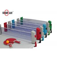 Quality Indoor / Outdoor Portable Table Tennis Set Easy To Take 190 * 68.5mm Size for sale