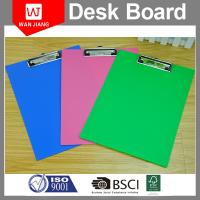 Quality China professional factory OEM office stationery Metal PP plastic clip board for sale