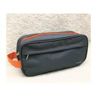 Quality Large Waterproof 600D Polyester Promotional Toiletry Bag For Men Shaving for sale