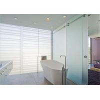 Quality Sandblasted Frosted Glass Sheets 8mm Thickness Interior Acid Etched Doors Glass for sale