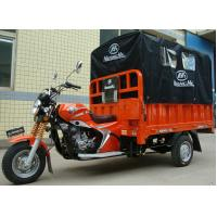 China 200CC Cargo Tricycle Delivery Van with Rear Canvas Cover for Outdoor Raining Areas on sale