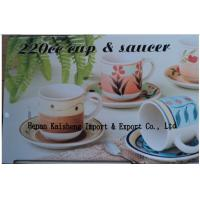 Quality 12 pcs  cup and saucer ,6cups and 6saucers for sale