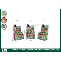 Quality Colorful counter top soft drink shelf wire rack displays for supermarket for sale