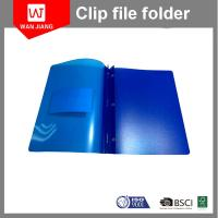 Buy New design document file PP plastic 3 prong file folder with two pockets and at wholesale prices