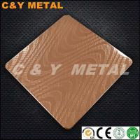 China Hot sales Embossing Polish Stainless Steel Sheets- CY-183 on sale