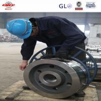 Heat Treatment Crane Sheave Wheel Block , Forged Steel Pulleys For Wire Rope