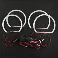 China led angel eyes head lamp white cotton color smd led halo rings for bmw e46 on sale