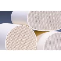 Quality Cordierite Diesel Particulate Filter , White Ceramic Substrate for sale