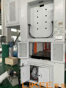 China 3Phase 50HZ Aluminium Foil Tea Cup Making Machine Mitsubishi PLC Controlled on sale