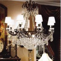Quality Black iron candle chandelier (WH-WI-03) for sale
