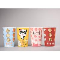 Quality To Go Paper Popcorn Buckets / Boxes , Cute Disposable Popcorn Containers for sale