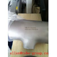 Quality TOBO STEEL Group  ASTM A815 ASME SA815 CRS32202 stainless steel piping fittings for sale