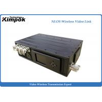 Quality Long Distance COFDM Wireless Video Transmitter 5W Power Amplifiter 3km NLOS for sale