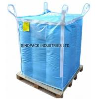 Quality Baffle design dangerous chemical powder Storage Antistatic Fibc with sift proofing for sale