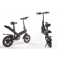 Quality 14 Inch Portable Folding Electric Bike Aluminum Alloy Frame For Adults for sale