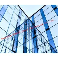 Quality Modern Hidden Frame Tempered Double Layer Glass Aluminum Curtain Wall EPS Project for sale