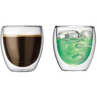 Quality Glass double wall cup for sale