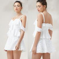 Buy cheap Hot Sale Fashion Womens Floral Sex Linen Slip Mini Dress from wholesalers