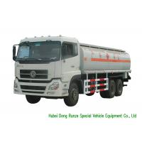 Quality DFA 6x4 LDH / RHD Oil Delivery Truck With 22CBM Aluminium Alloy Tank for sale