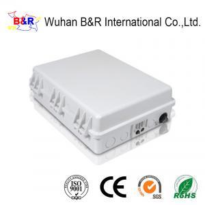 Quality ABS 36 Cores Rustproof Fiber Optic Distribution Box for sale