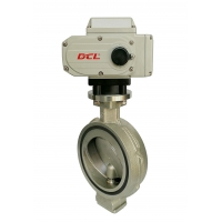 Buy cheap IP67 Freezing Offset Eccentric Electric Butterfly Valve from wholesalers