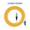Buy cheap OEM Single Core Single Mode Fiber Optic Cable LC UPC FC UPC For LAN CATV from wholesalers