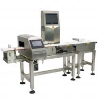 Quality Waterproof Combo Online Checkweigher And Metal Detector Machine Stable , ± 0.1g Accuracy for sale