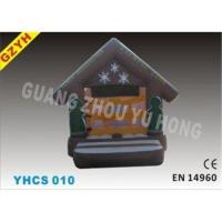 0.55mm PVC Tarpaulin Cute Kids Inflatable Bouncy Castle YHCS 010 for Rental Business
