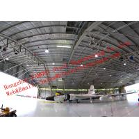 Quality Large-span Waterproof Insulated Prefabricated Steel Structure Aircraft Hangar for Private Usage for sale