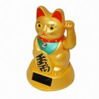 Quality Bobble Head/Solar Toys/Minnie/Power Lucky Cat/Power Dancing Pig, Made of Non-toxic Material for sale