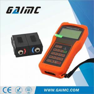 Quality GUF100 Handheld water portable ultrasonic flow meter for sale