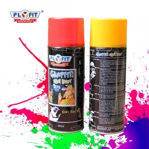 Quality High Heat Car Graffiti Spray Paint Metallic Aerosol Acrylic Plastic Coating for sale